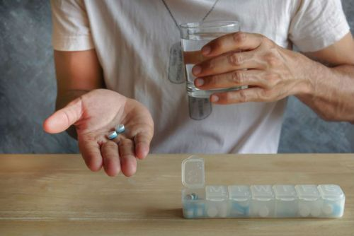 Прием медикаметов