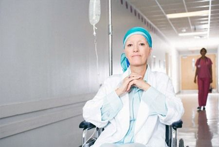 Онкологическая пациентка