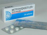 Метронидазол при лямблиозе как принимать